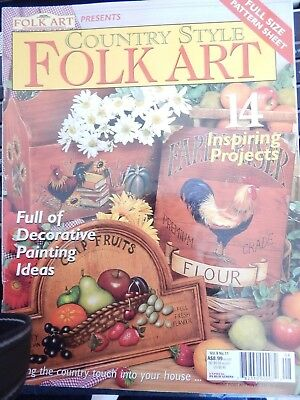 Country Style Folk Art  Vol 9 11 - 14 Inspiring Projects
