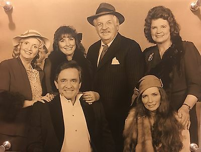 Johnny Cash And Carter Family Deluxe Jumbo Photograph and Transparencies