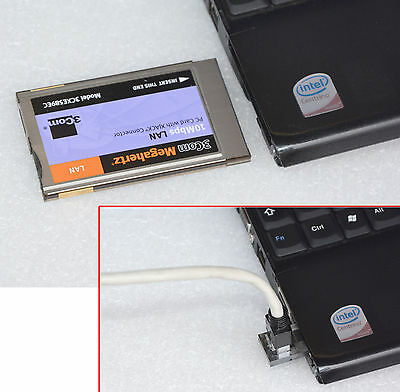 3Com 3Cxe589Ec Pcmcia Nic Network Card Dsl Internet For Almost All Laptops 40
