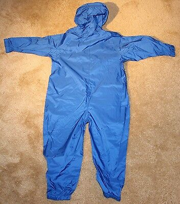 Mountain Equipment Co-Op Full Body One Piece Kids Mud Rain Suit Size Small MEC