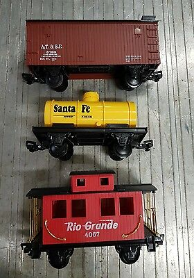 g scale freight cars unkown brand