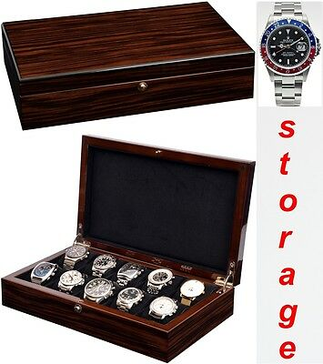 Luxury Watch Collection/Storage Box for 10 watches-model: Watchpro-10MCBK