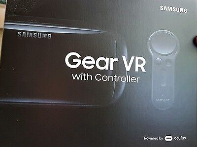 Samsung S8 VR Headset With Controller - Black