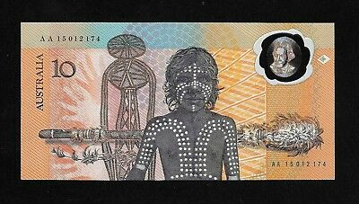 1988  Australian Ten Dollar  Note - Collectors Edition In Folder -New Condition