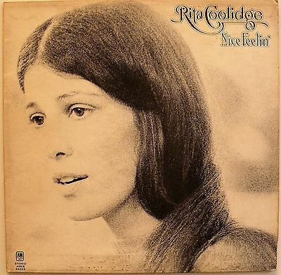 RITA COOLIDGE - Nice Feelin' (AMLS 64325) Vinyl LP Album. UK 1971 - EX/VG+
