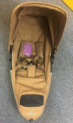 quinny zapp xtra 2 Foldable Seat Unit Toffee Crush New