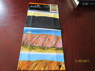 100% Cotton TeaTowel - Central Australia