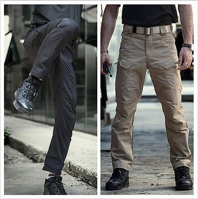 7745 Men's Military Tactical Combat Trousers Casual Outdoor Cargo Hiking Pants