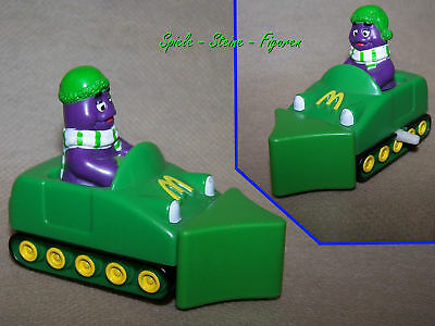 Grimace with Snow Plough, Mcd Collector's Item Promotional Figure 1994 B