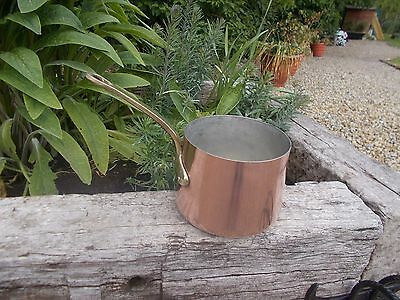 Lovely French Vintage Copper Milk Pan Ref T11/140