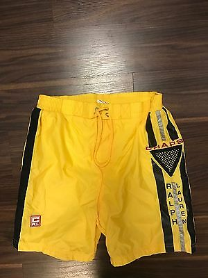 Polo Ralph Lauren Chaps Vintage 80's 90's Swimming Swim Trunks Shorts Mens Small