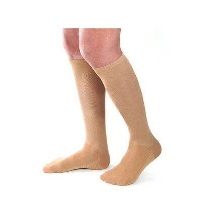 Medical Graduated Compression Flight Socks Stockings (15-20mm/Hg) - Physio