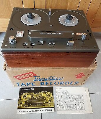 Tandberg Series 1600 X Reel To Reel Tape Recorder