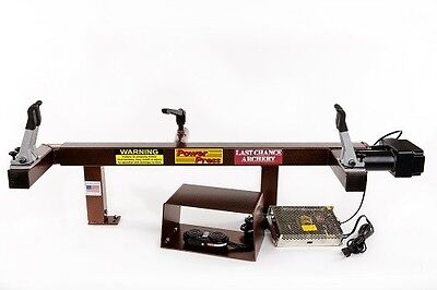LAST CHANCE POWER  PRESS DELUXE PRESS, Bow Press, LCA, New w factory warranty