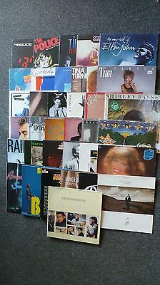 38 LP´s and 2 Maxis - Vinyl - The Rolling Stones - The Police usw. - Sammlung