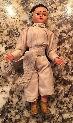 Vintage Japanese Doll In Native Costume