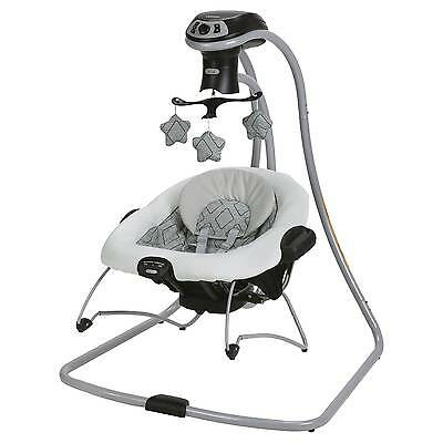 Graco® DuetConnect® LX with Multi-Direction Baby Swing - Asher