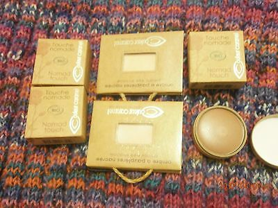 lot 6 maquillages bio COULEUR CARAMEL NEUF