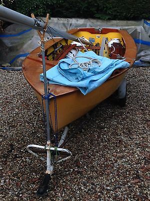 Enterprise Sailing Dinghy (with launch & road trailers)