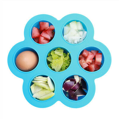 Silicone Baby Food Freezer Storage Trays Safety Infant Flower Material For Baby