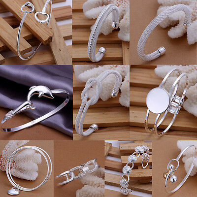 Wholesale New Lady Mens Fashion Jewellery 925Silver Bracelet & Holiday gifts