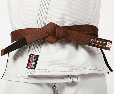 Tatami Fightwear Adult BJJ Rank Brown Belt