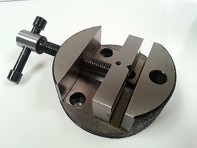 "Amadeal 3"" Round Vice for Rotary Table or Vertical Slide"