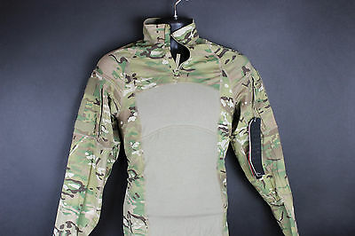 New 1/4 Quarter Zip Massif Multicam Army Combat Shirt Paintball Airsoft Top
