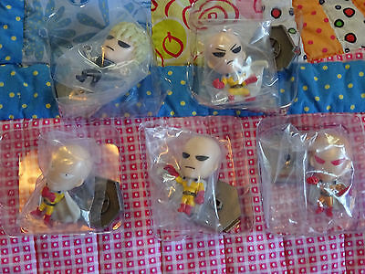 One Punch Man Original Minis LOT OF 5 - RARE SAITAMA ONE PUNCH MAN MINI + 4 MORE