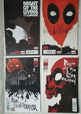 Night of the Living Deadpool # 1 - 4 COMPLETE NM/FP