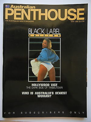 May 1997 Black Label Australian Penthouse Magazine - Subscriber Only Edition