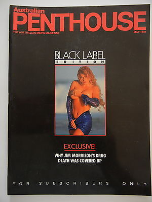 May 1991 Black Label Australian Penthouse Magazine - Subscriber Only Edition