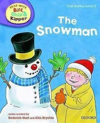ORT Read with Biff, Chip, and Kipper: First Stories: Level 2: 'The Snowman' Book