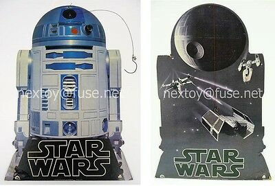 Star Wars 1977 R2-D2/DEATH STAR HANGING STORE DISPLAY 20th Century Fox Records