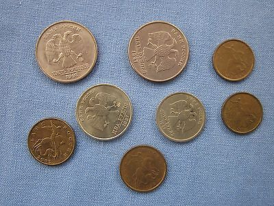 RUSSIA ~ Small lot of coins from travel in 2003