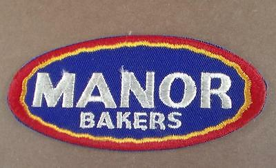 Vintage Manor Bakers Embroidered Patch