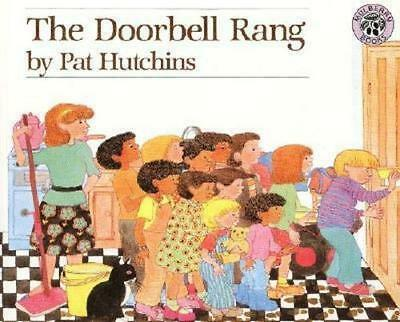 NEW The Doorbell Rang By Pat Hutchins Paperback Free Shipping