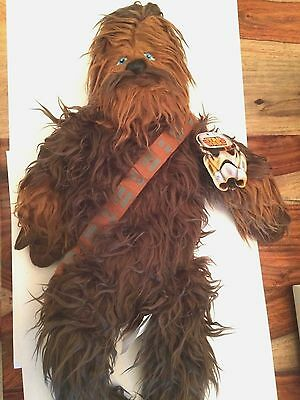 Chewbacca Classic Star Wars/Disney Pillow Buddy Stuffed Animal NWT 23""