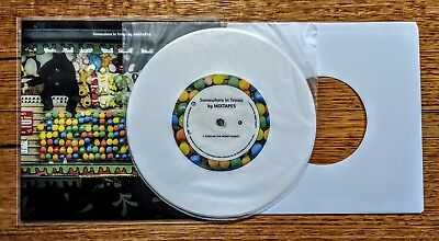 "100 x NEW WHITE PAPER, POLY INNER, & POLY OUTER SLEEVES 7"" EP 45RPM VINYL RECORD"
