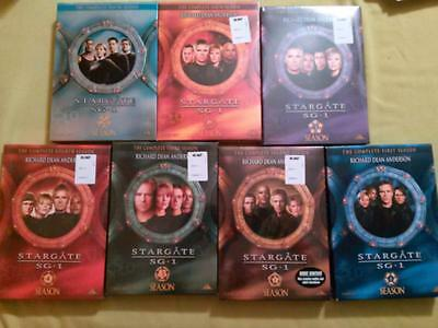 Stargate SG-1 TV Series Season 1 2 3 4 5 6 10 DVD Box Set Collection Some Sealed