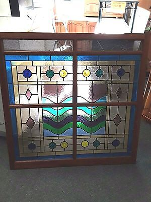 Cedar Lead light Window - (W) 1220 mm x (H) 1215 mm - $1100.00