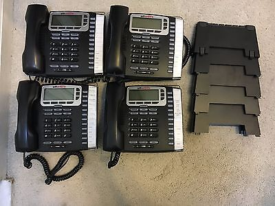 AllWorx 9212L VOIP Phone POE 12 Line w/ Handset and base(Lot of 4)