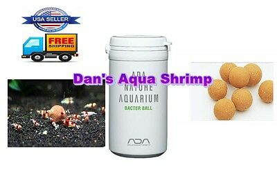 ADA Bacter 100 Ball Substrate Beneficial Bacteria Shrimp Fish Planted Aquarium