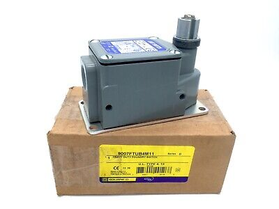 SQUARE D Schneider 9007FTUB4M11 Heavy Duty Foundry Limit Switch FTUB4 Series D