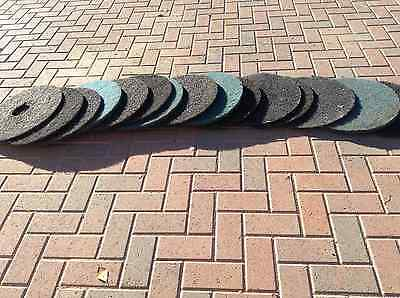 """Stripping, Buffing, Polishing Pads, 17"""" Total of 15"""