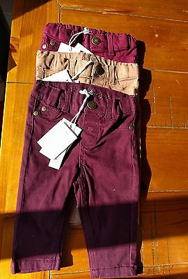 Brand New 3 pumpkin patch girl pants 0-3 months with tags.
