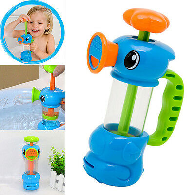 Children Baby Kids Bath Shower Toy Swimming Duck Design Water Pumping Toys