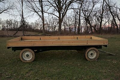 Hay Wagon. flat bed. Very nice! New Paint! New Wood!