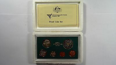 1982 Australia 6 Coin Proof Set With Foams and Certificate