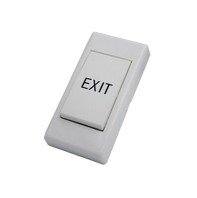 12V DC Exit Push Button Release Switch for Door Access Control System NO/COM